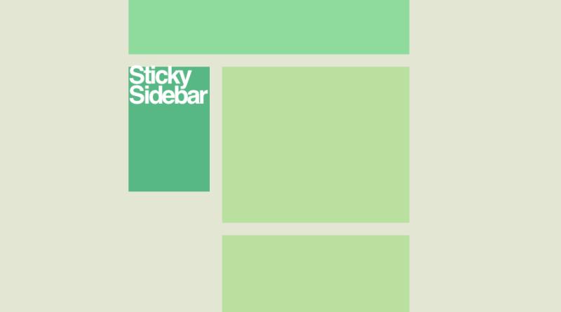 sticky-sidebar