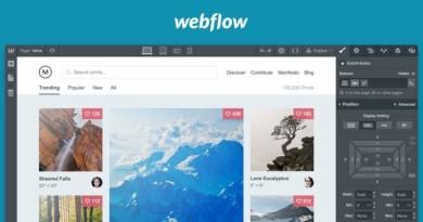 Выкачиваем сайт на Webflow и убираем логотип